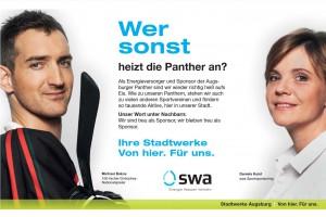 Wer sonst_Augsburger Anzeigenmotiv